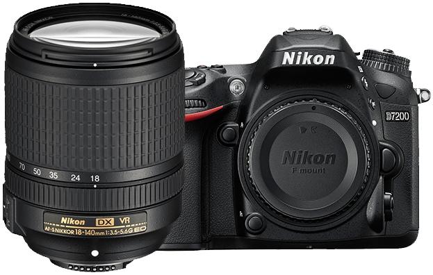 Image for Nikon D7200 24.2MP Digital SLR Camera With 18-140mm VR Lens