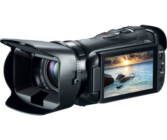 Image for Canon VIXIA HF-G20 Black Flash Memory Camcorder