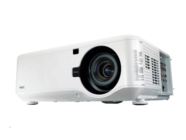 NEC NP4001 WXGA - 720p DLP Projector - Stereo Speakers - 4500 lumens