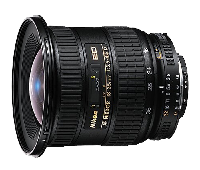 Nikon AF Zoom 18-35mm f/3.5-4.5D IF ED Lens