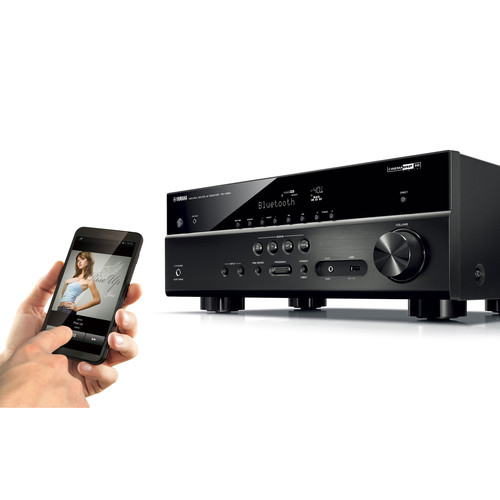 Image for Yamaha RX-V583BL 7.2 Channel AV Network Receiver - Wi-Fi - Black