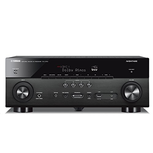 Yamaha AVENTAGE RX-A780 7.2-ch 4K Ultra HD AV Receiver with HDR, Dolby Vision, Dolby Atmos, Wi-Fi, Phono, YPAO and MusicCast. Works with Alexa.
