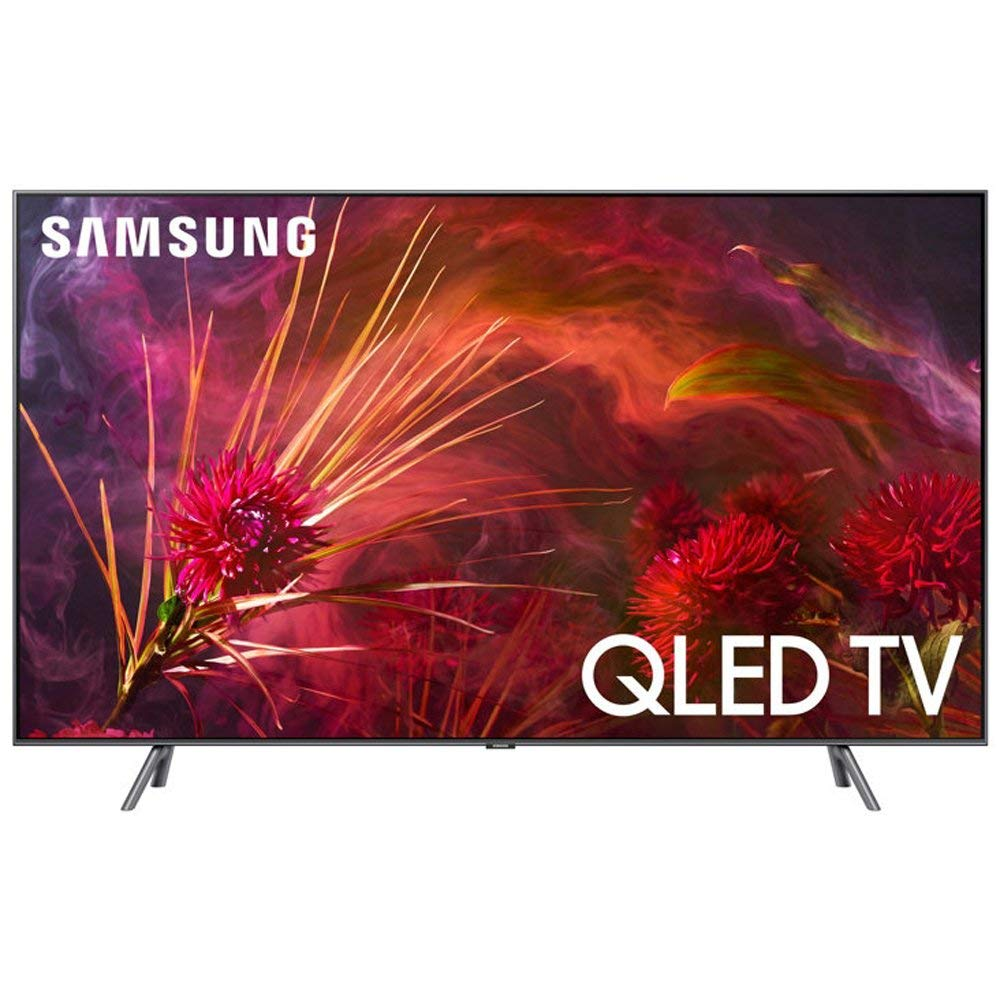 "Samsung QN82Q8FN Flat 82"" QLED 4K UHD Smart TV (2018 Model)"
