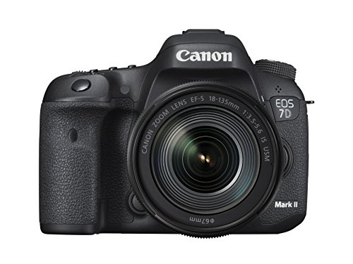Canon EOS 7D Mark II 20.2MP DSLR Camera with 18-135mm Lens Wi-Fi Adapter Kit