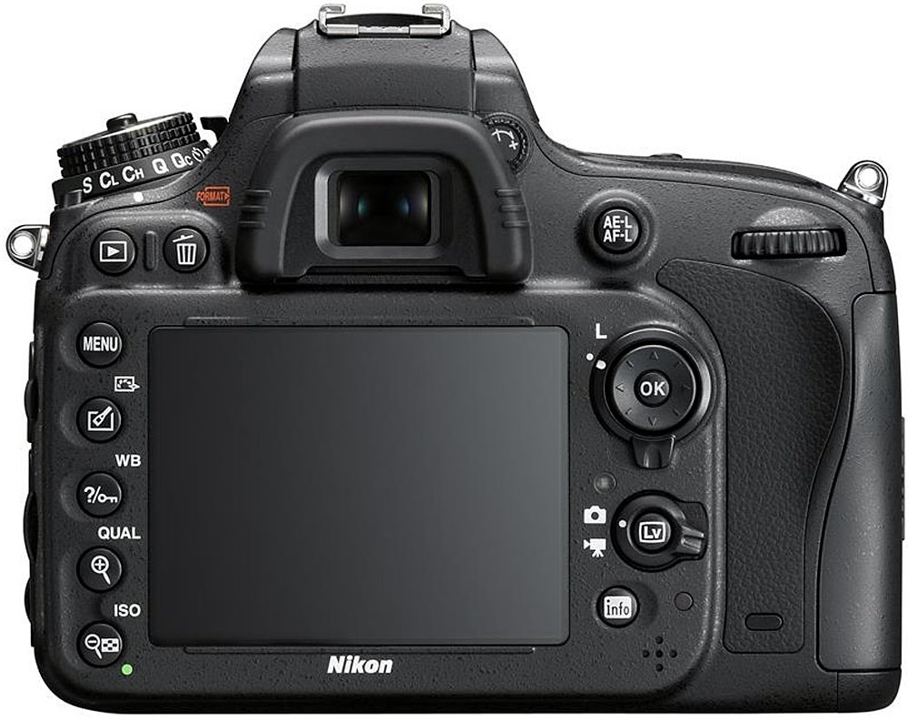 Nikon D610 24.3MP DSLR Camera- Black