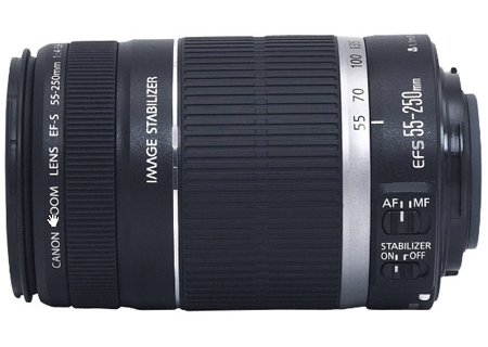 Canon EF-S 55-250mm f4-5.6 IS Telephoto Zoom Lens