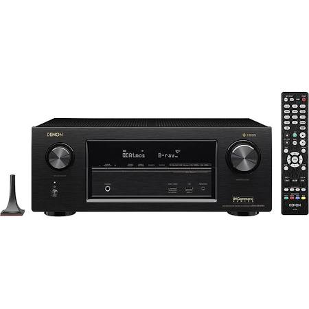 Denon AVRX3400H 7.2 Channel AV Receiver with Built-in HEOS wireless technology
