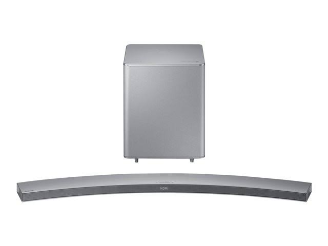 Samsung HW-H7501 8.1-Channel Curved Soundbar System (Silver)