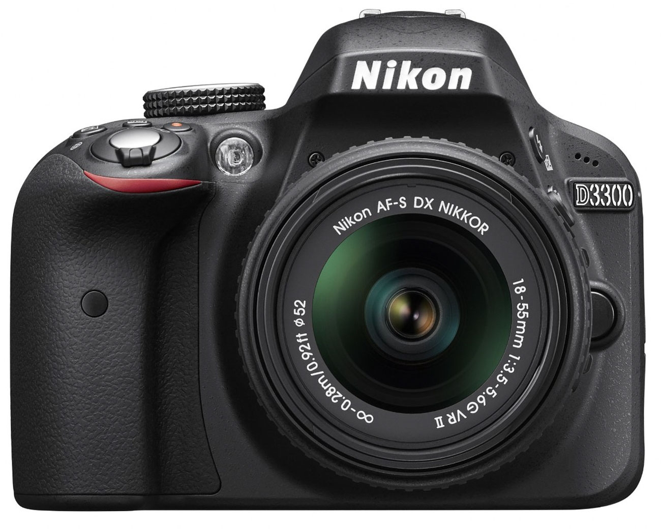 Image for Nikon D3300 24.2MP DSLR Camera With 18-55mm VR Lens Kit