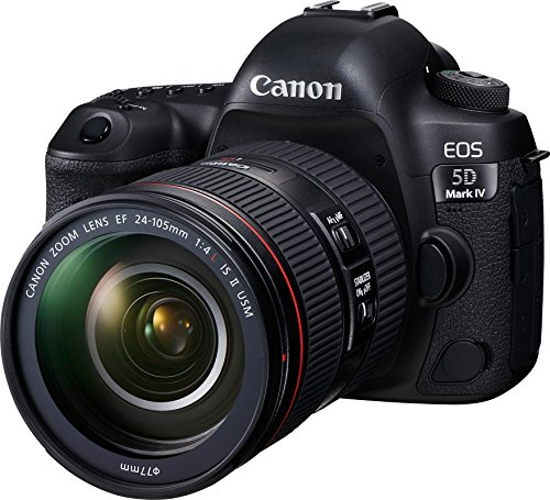 Canon EOS 5D Mark IV 30.4MP DSLR Camera with 24-105mm Lens Kit