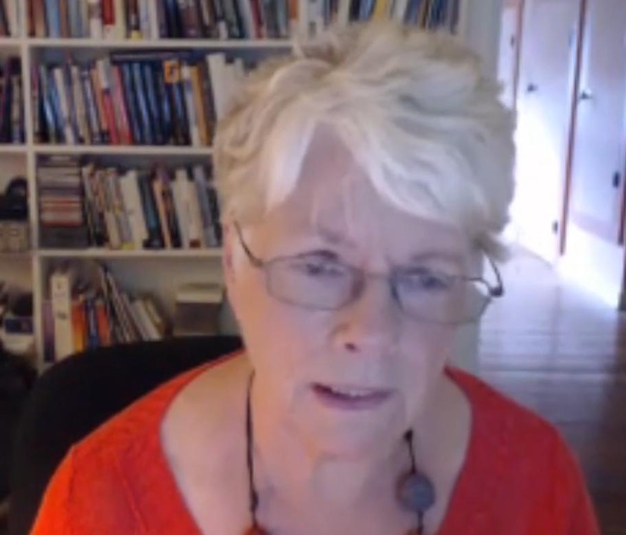 Sebern Fisher in the Finding The Path Neurofeedback Mentoring Webinars