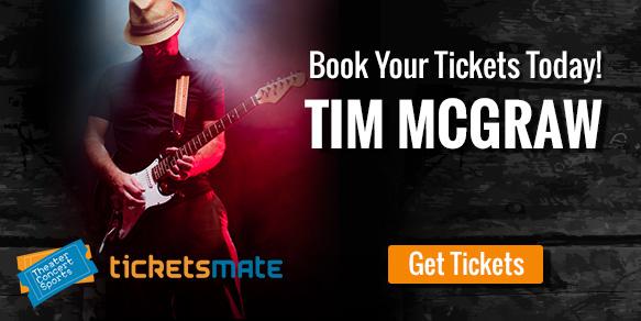tim mcgraw displays shotgun rider tour Tickets