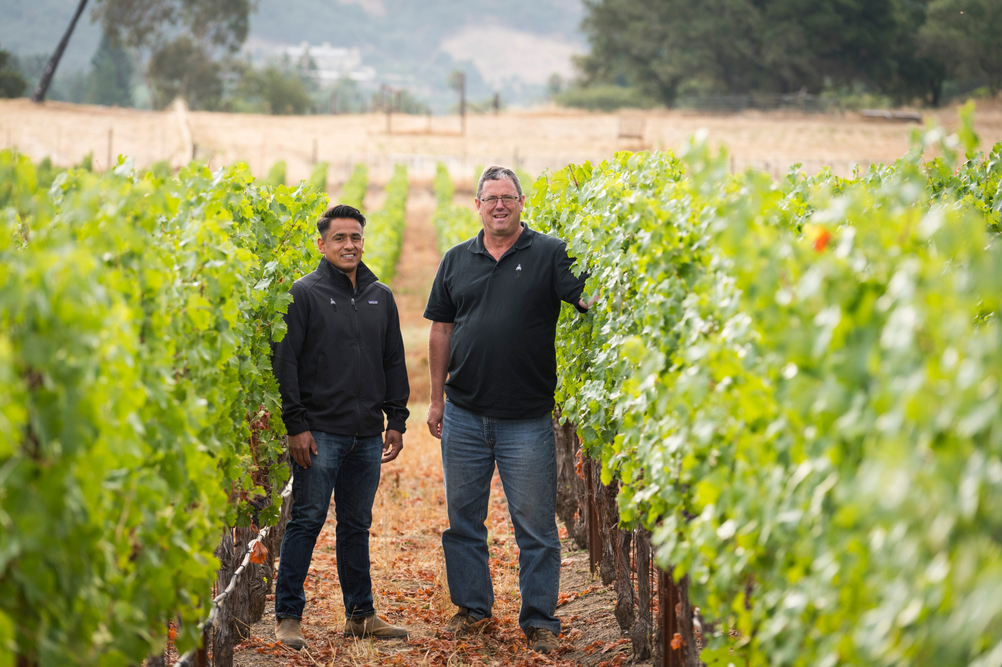 Pete Richmond/Miguel Luna: provided by Silverado Farming; photographer was Suzanne Becker Bronk