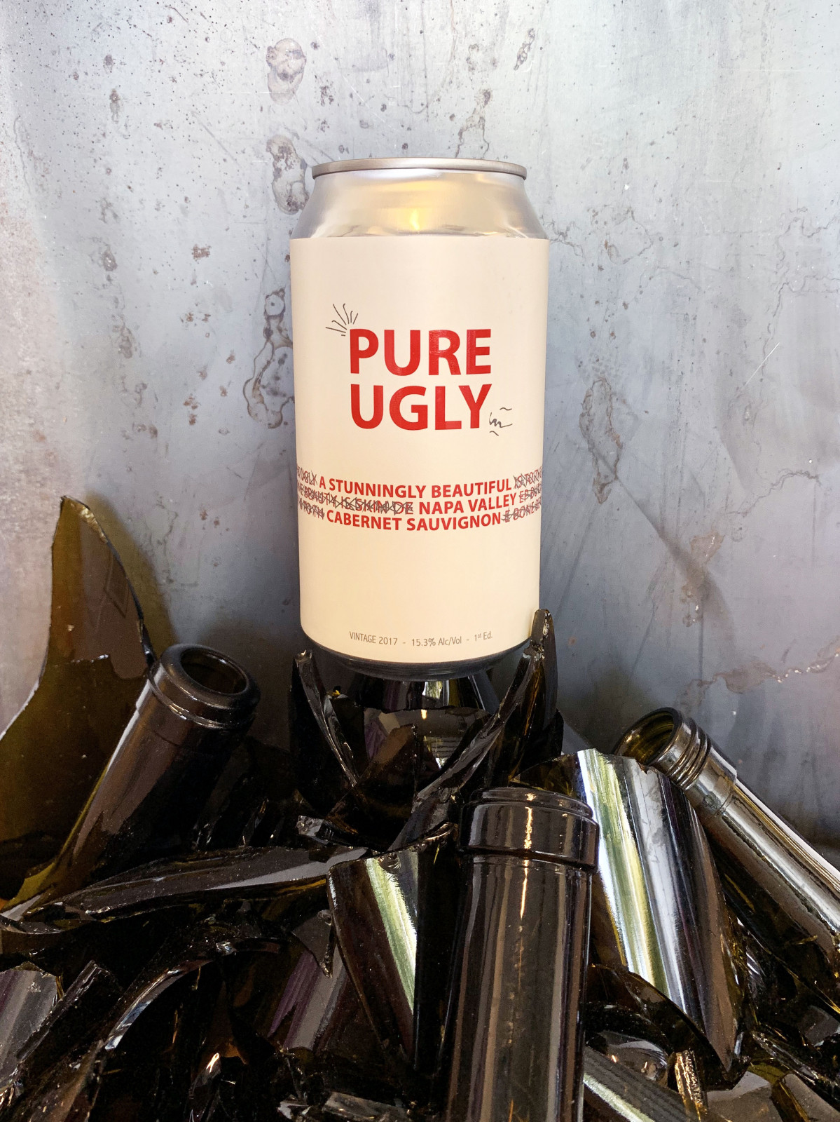 Pure Ugly 2017 Napa Valley Cabernet Sauvignon - Sample offer 2 x 375ml cans - Art+Farm Wine