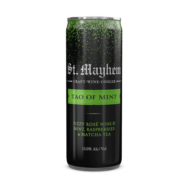 St. Mayhem Tao of Mint 4 x 250 ml Cans - Art+Farm Wine