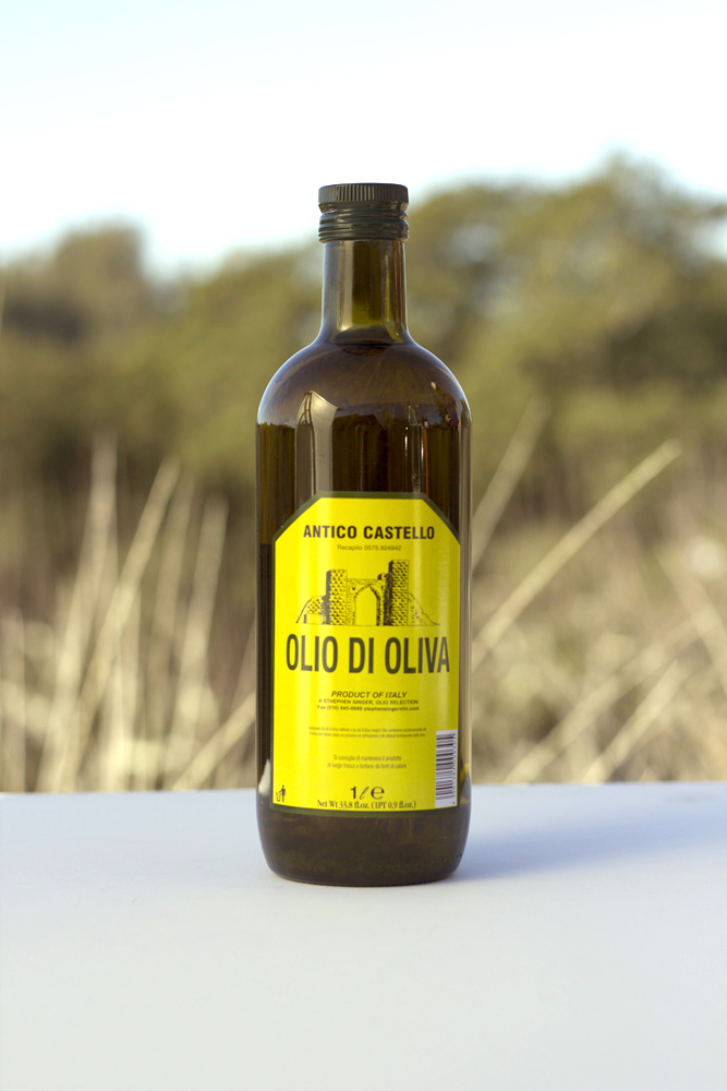 Antico Castello Olio di Oliva, 1 l An excellent oil for cooking and dressing -- 30% extra-virgin - Beaune Imports