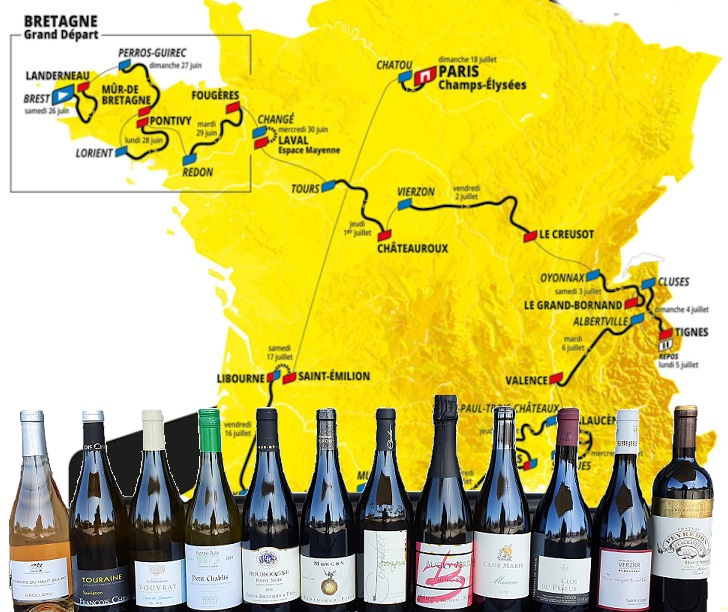 2021 Tour de France 12pk Like a bike race, but in a box. - Beaune Imports