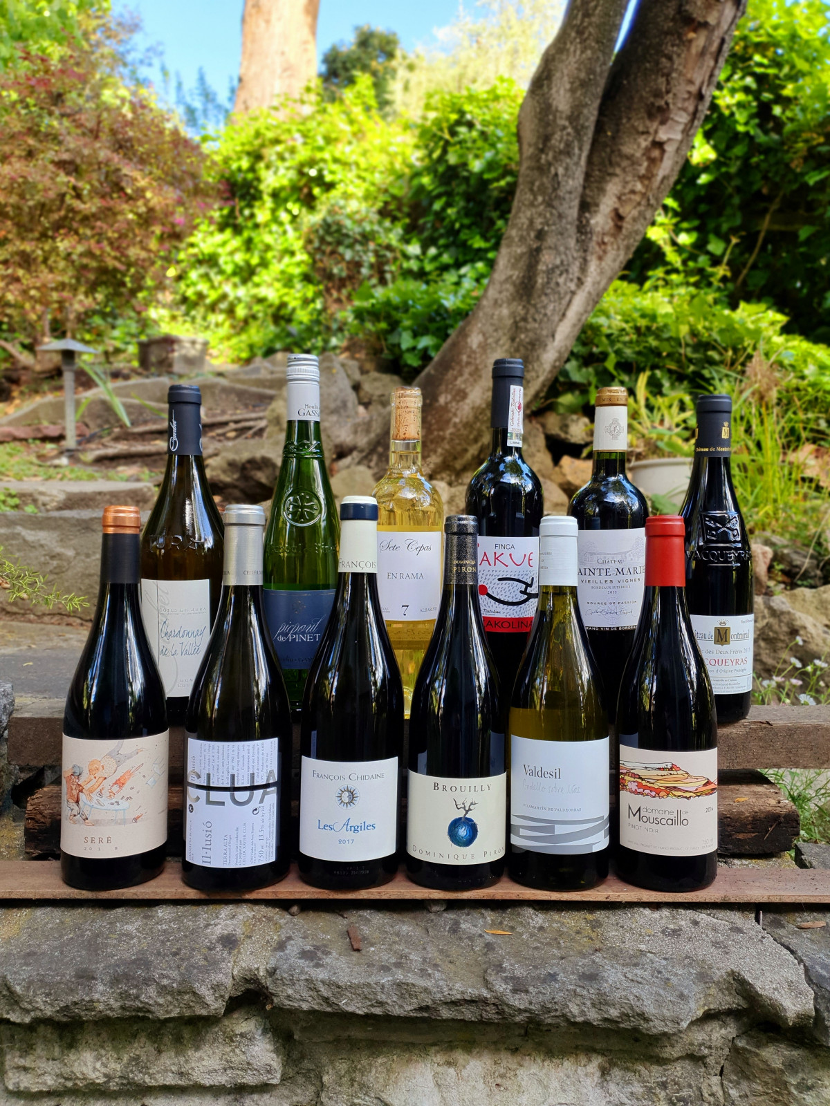 Road Trip 12pk A bargain box of 12 bottles of wine from France and Spain. - Beaune Imports