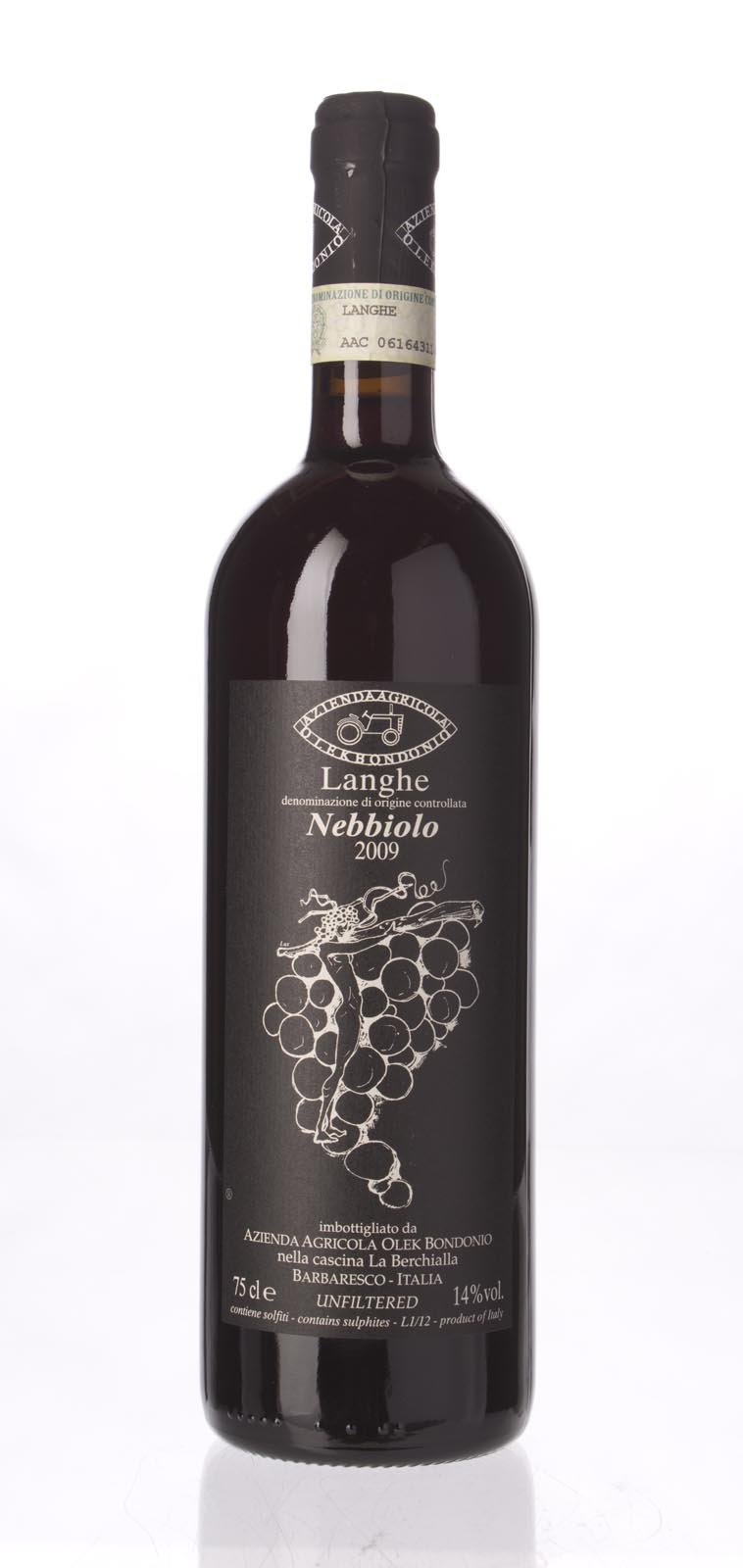 Olek Bondonio Nebbiolo Langhe 2009, 750mL () from The BPW - Merchants of rare and fine wines.