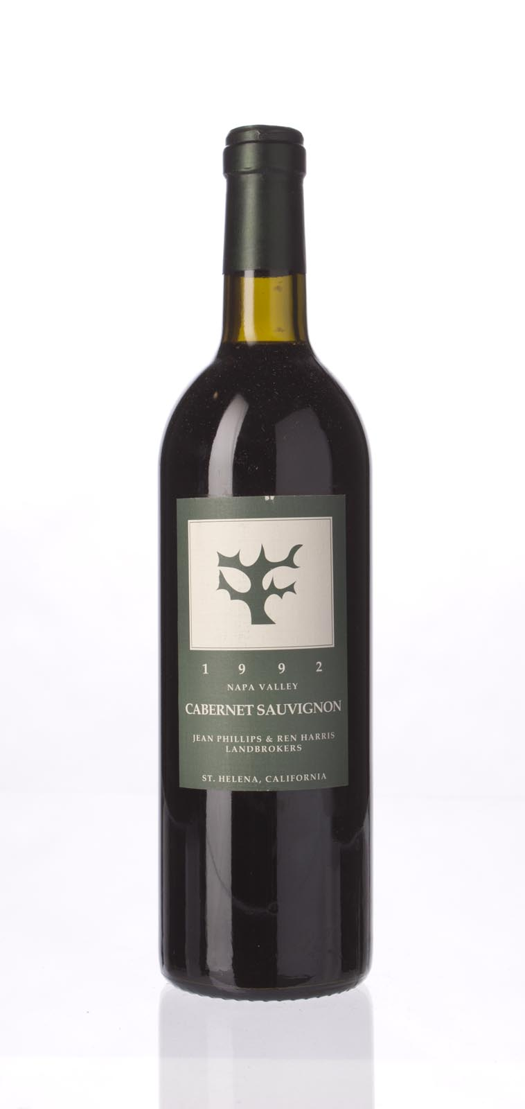 Jean Phillips and Ren Harris Cabernet Sauvignon Napa Valley 1992, 750ml () from The BPW - Merchants of rare and fine wines.