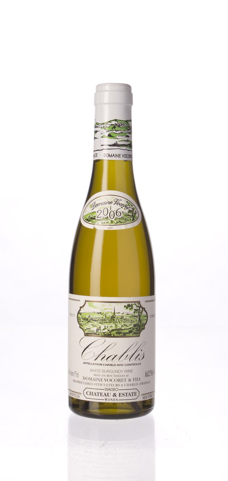 Vocoret et Fils Chablis 2006, 375ml () from The BPW - Merchants of rare and fine wines.