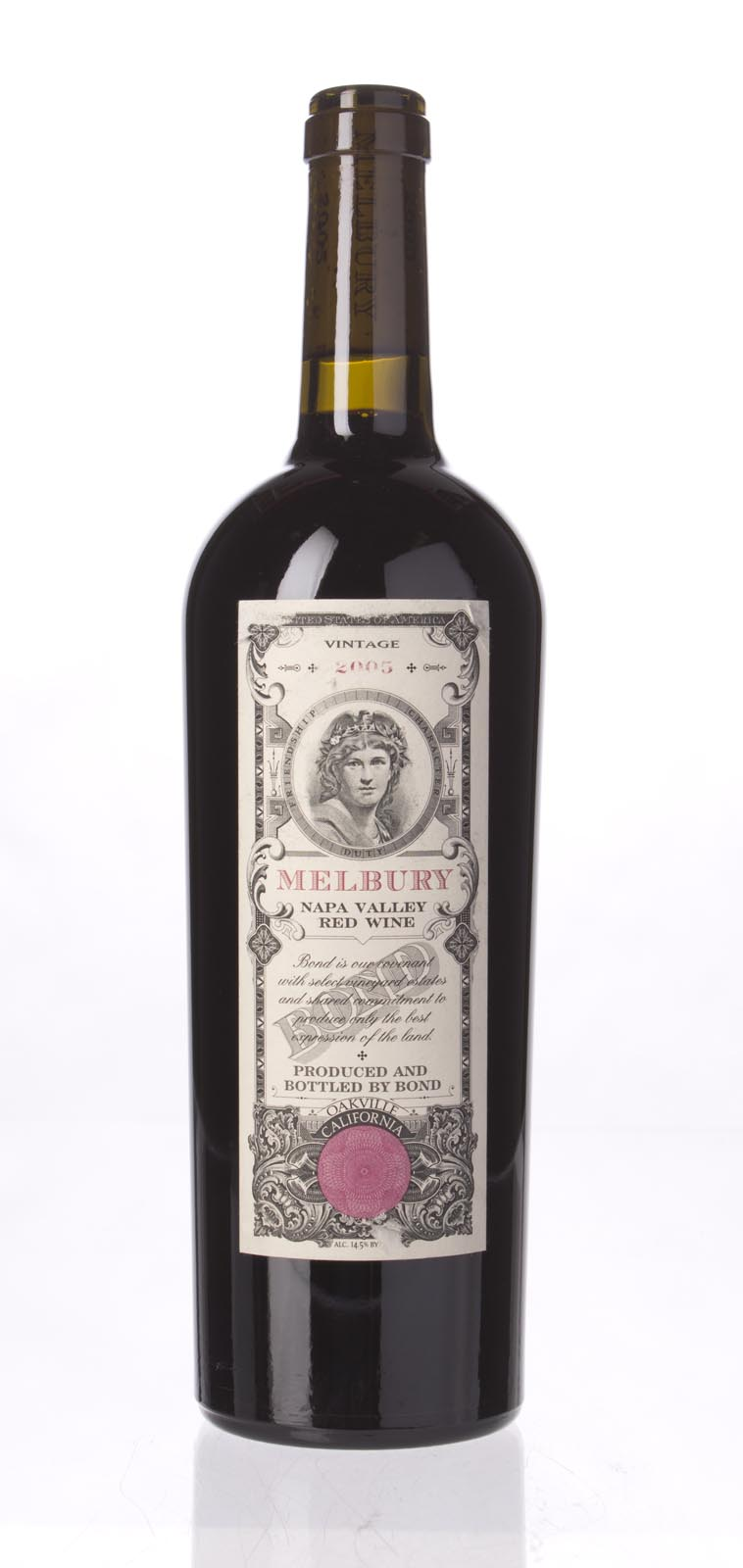 Bond Melbury 2005, 750mL (JS92, WA94, ST93) from The BPW - Merchants of rare and fine wines.