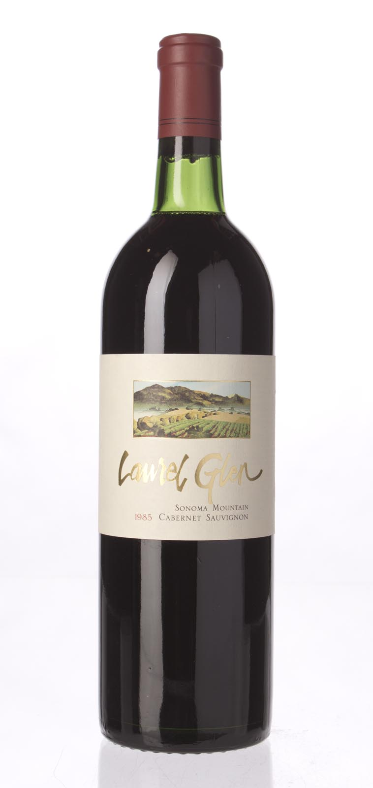 Laurel Glen Cabernet Sauvignon Sonoma Mountain 1985, 750mL (WA90, WS91) from The BPW - Merchants of rare and fine wines.