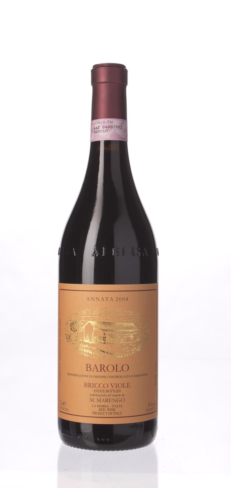 Mario Marengo Barolo Bricco Viole 2004, 750mL (WS90) from The BPW - Merchants of rare and fine wines.