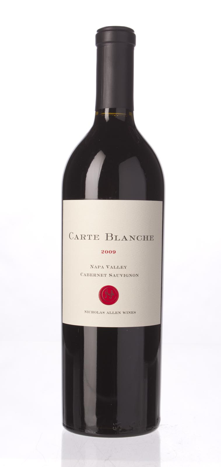 Carte Blanche Cabernet Sauvignon Napa Valley 2009, 750mL (WA94) from The BPW - Merchants of rare and fine wines.