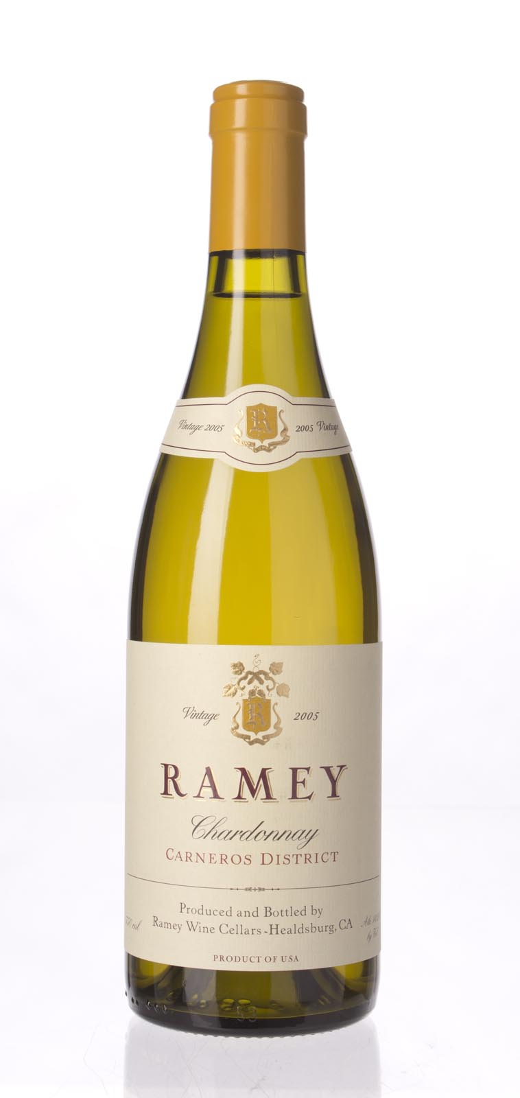Ramey Chardonnay Carneros 2005, 750mL (WA91, ST90) from The BPW - Merchants of rare and fine wines.