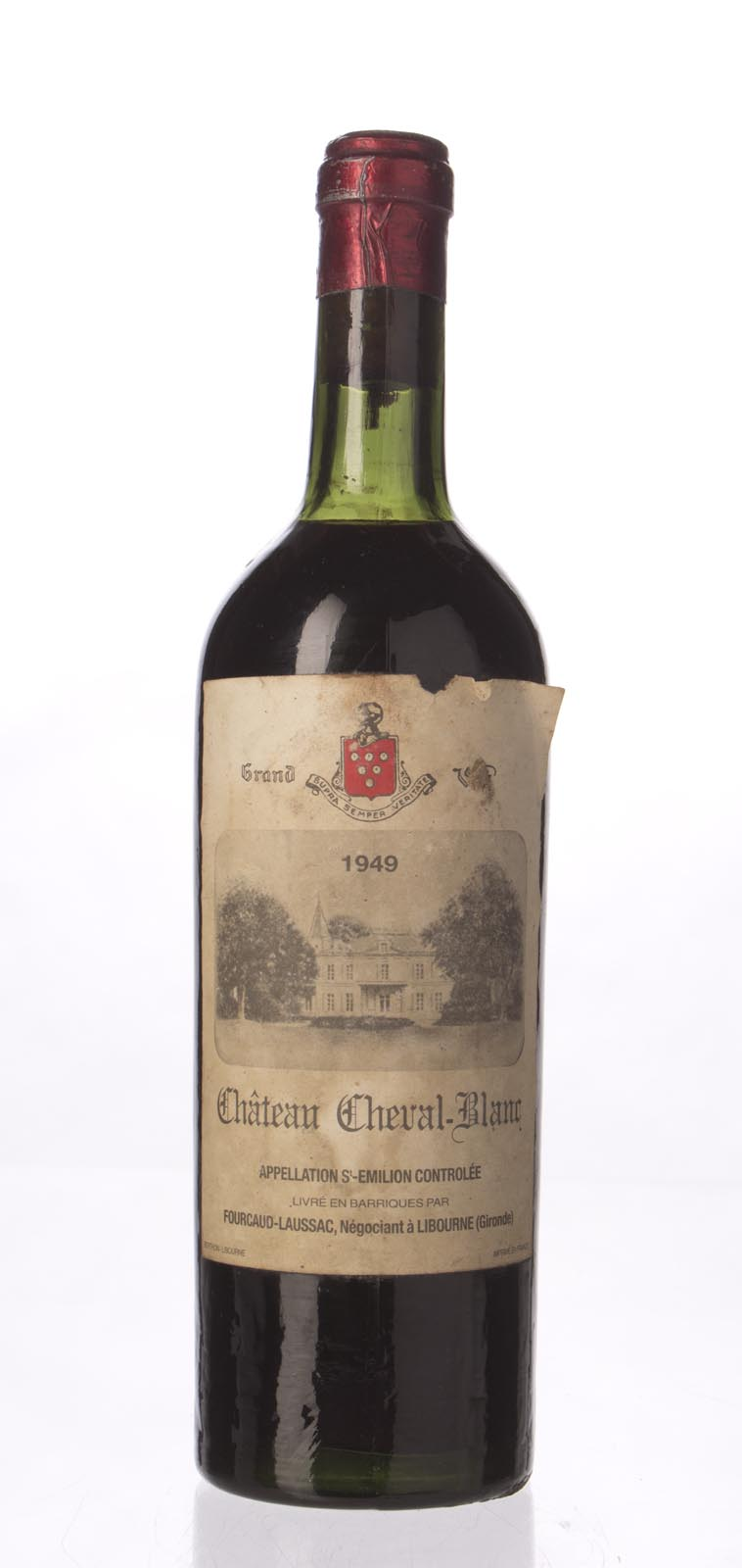 Cheval Blanc 1949, 750mL (WA96, ST98, WS97) from The BPW - Merchants of rare and fine wines.