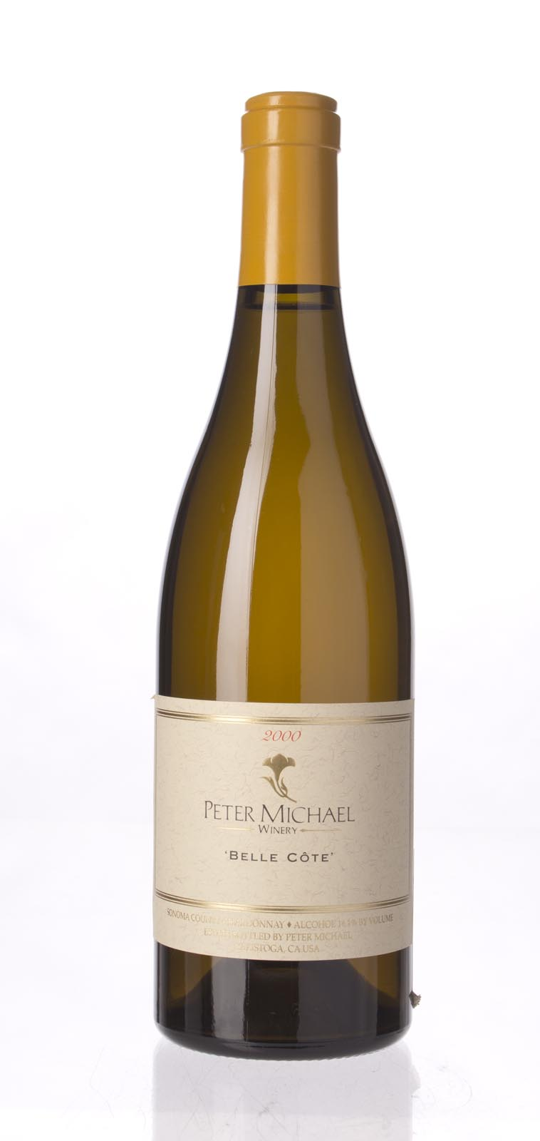 Peter Michael Winery Chardonnay Belle Cote 2000, 750mL (ST90) from The BPW - Merchants of rare and fine wines.