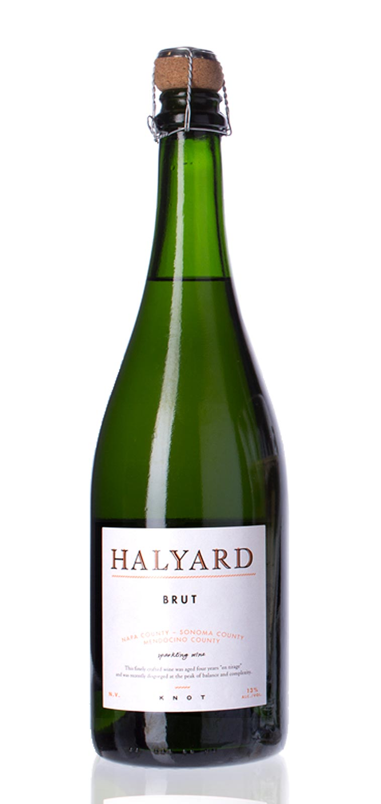 Knot Wines Halyard Brut N.V., 750ml () from The BPW - Merchants of rare and fine wines.