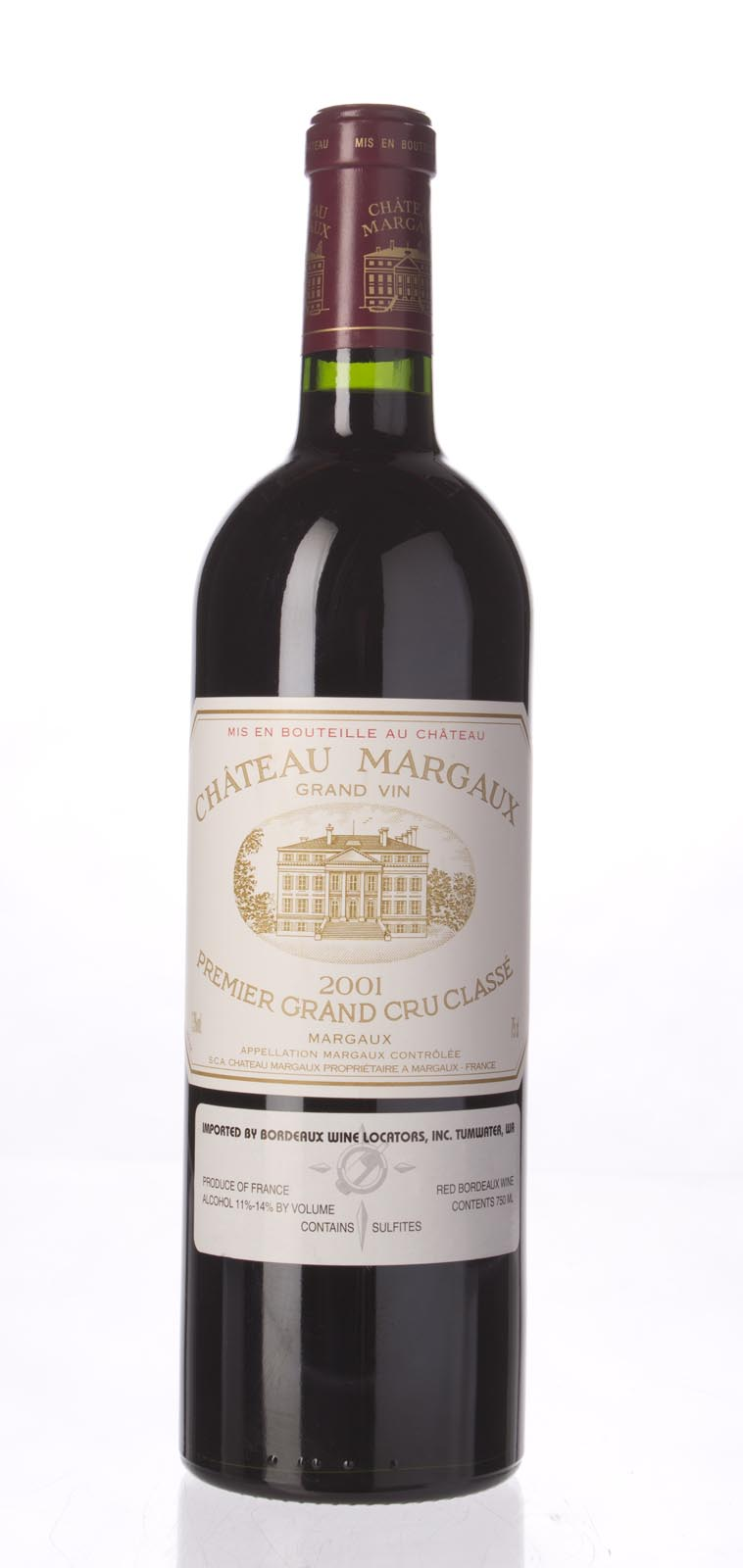 Chateau Margaux 2001, 750mL (WA93, ST93, WS92) from The BPW - Merchants of rare and fine wines.