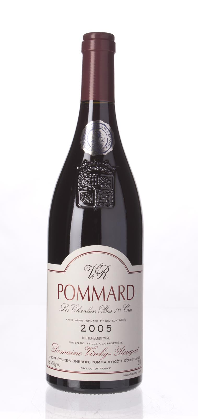 Virely Rougeot Pommard les Chanlins 2005, 750mL () from The BPW - Merchants of rare and fine wines.