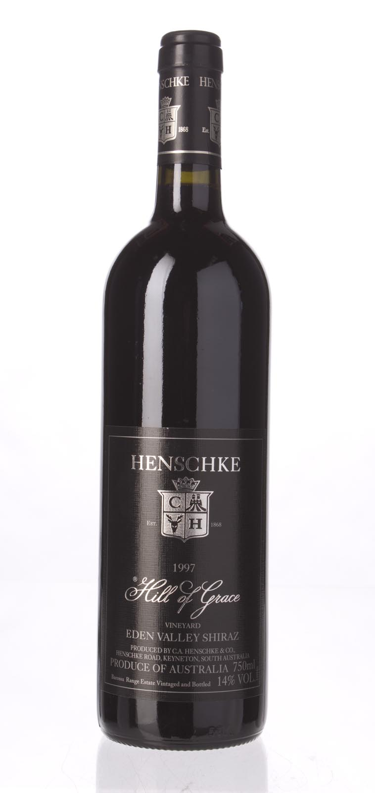 Henschke Shiraz Hill Of Grace 1997, 750mL (WS95) from The BPW - Merchants of rare and fine wines.