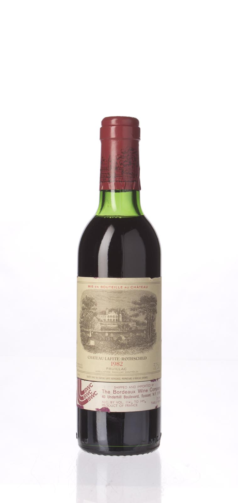 Lafite Rothschild 1982, 375ml (WA97+, ST95+, WS97) from The BPW - Merchants of rare and fine wines.