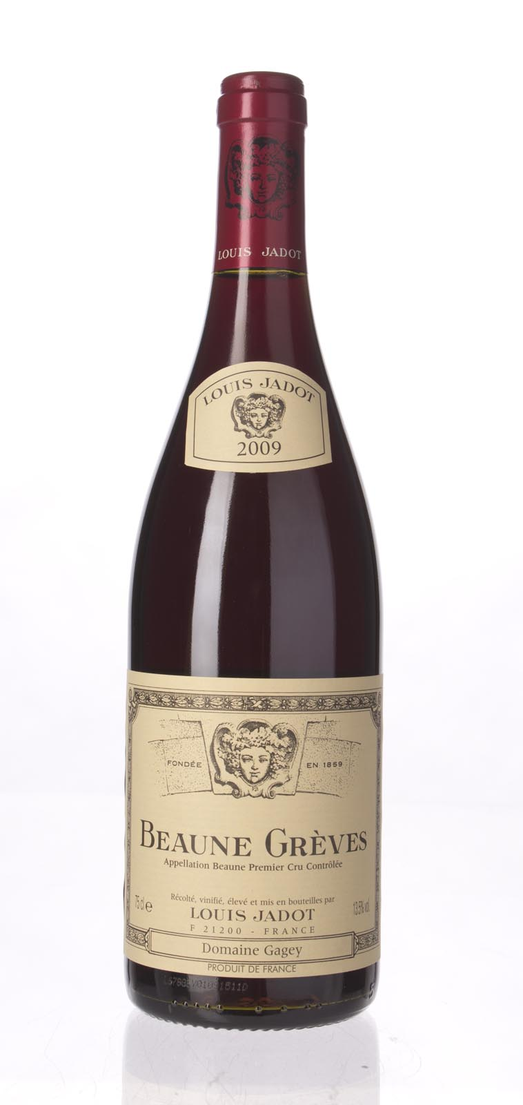 Louis Jadot Beaune Greves 2009, 750ml (BH89) from The BPW - Merchants of rare and fine wines.