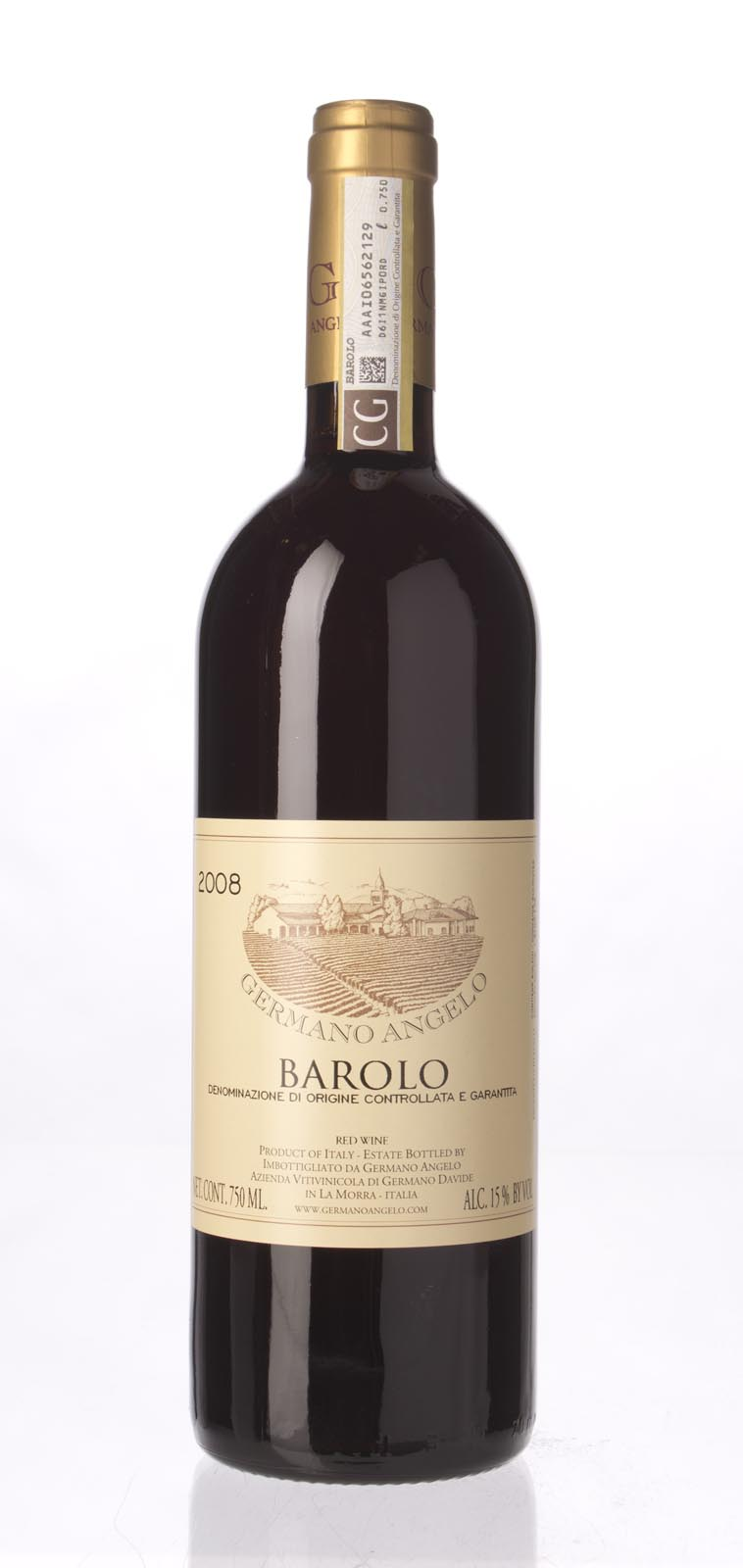 Angelo Germano Barolo 2008, 750ml () from The BPW - Merchants of rare and fine wines.