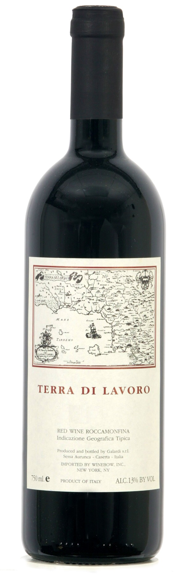 Fattoria Galardi Terra di Lavoro 2010, 750ml (WA97+) from The BPW - Merchants of rare and fine wines.