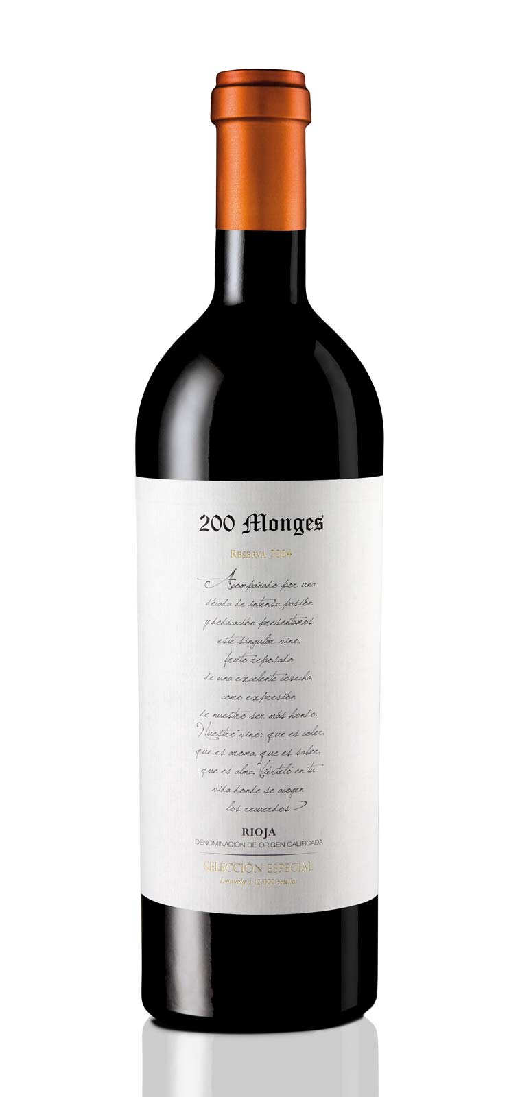 Bodegas Vinicola Real 200 Monges Reserva Especial 2004, 750ml (WA97) from The BPW - Merchants of rare and fine wines.