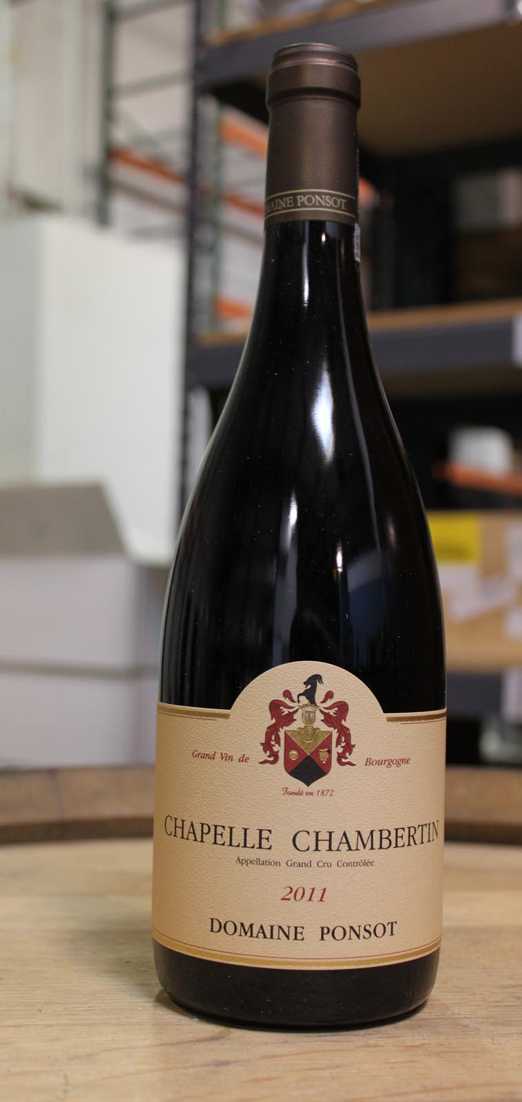 Domaine Ponsot Chapelle Chambertin 2011, 750ml (BH92-95) from The BPW - Merchants of rare and fine wines.