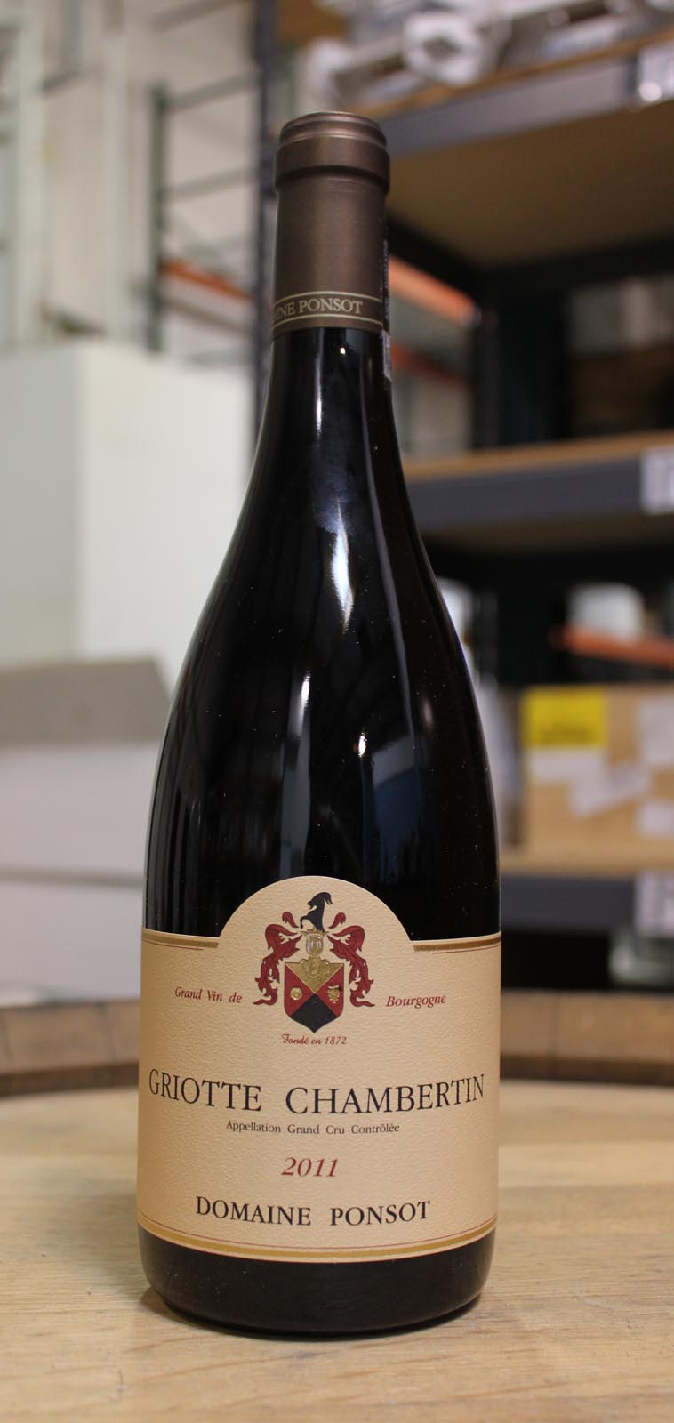 Domaine Ponsot Griottes Chambertin 2011, 750ml (BH92-95) from The BPW - Merchants of rare and fine wines.