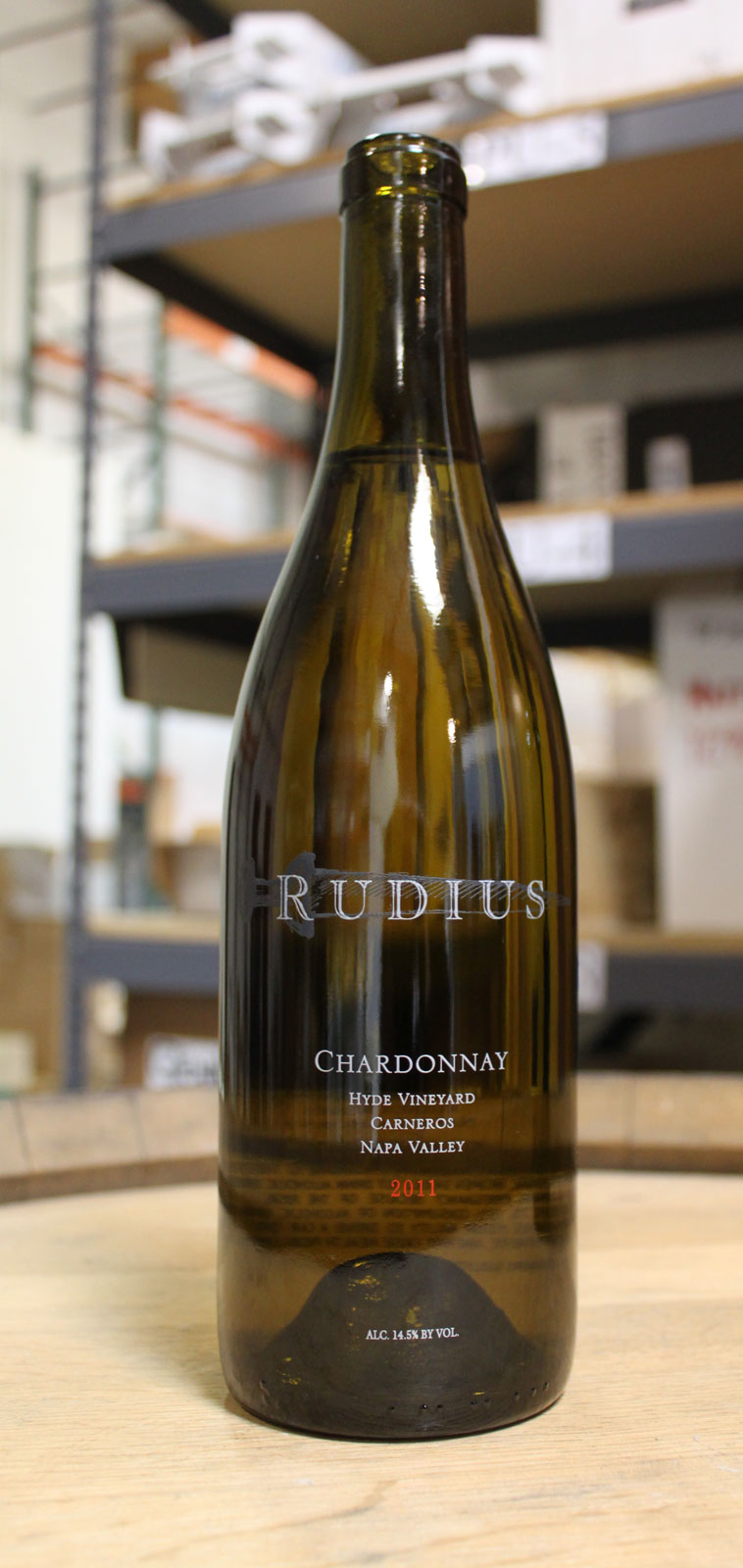 Rudius Wines Chardonnay Hyde Vineyard 2011, 750ml () from The BPW - Merchants of rare and fine wines.