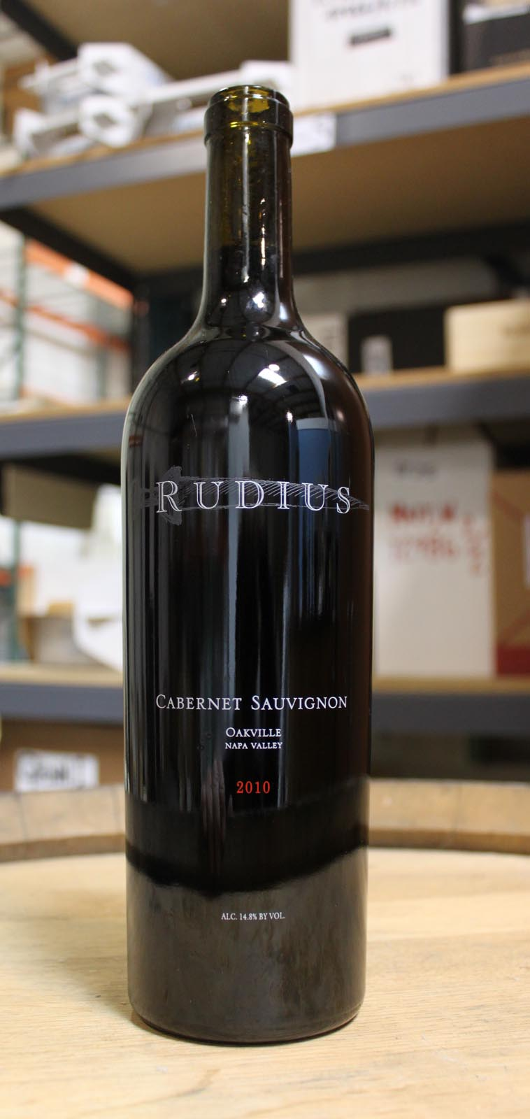 Rudius Wines Cabernet Sauvignon Oakville 2010, 750ml () from The BPW - Merchants of rare and fine wines.