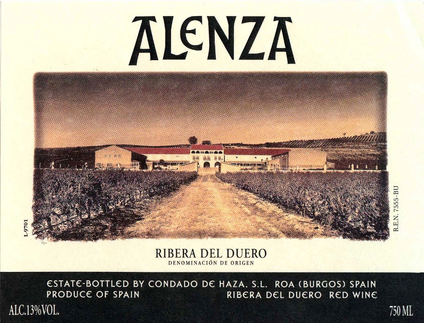 Condado de Haza Alenza 1995, 750ml (ST94) from The BPW - Merchants of rare and fine wines.