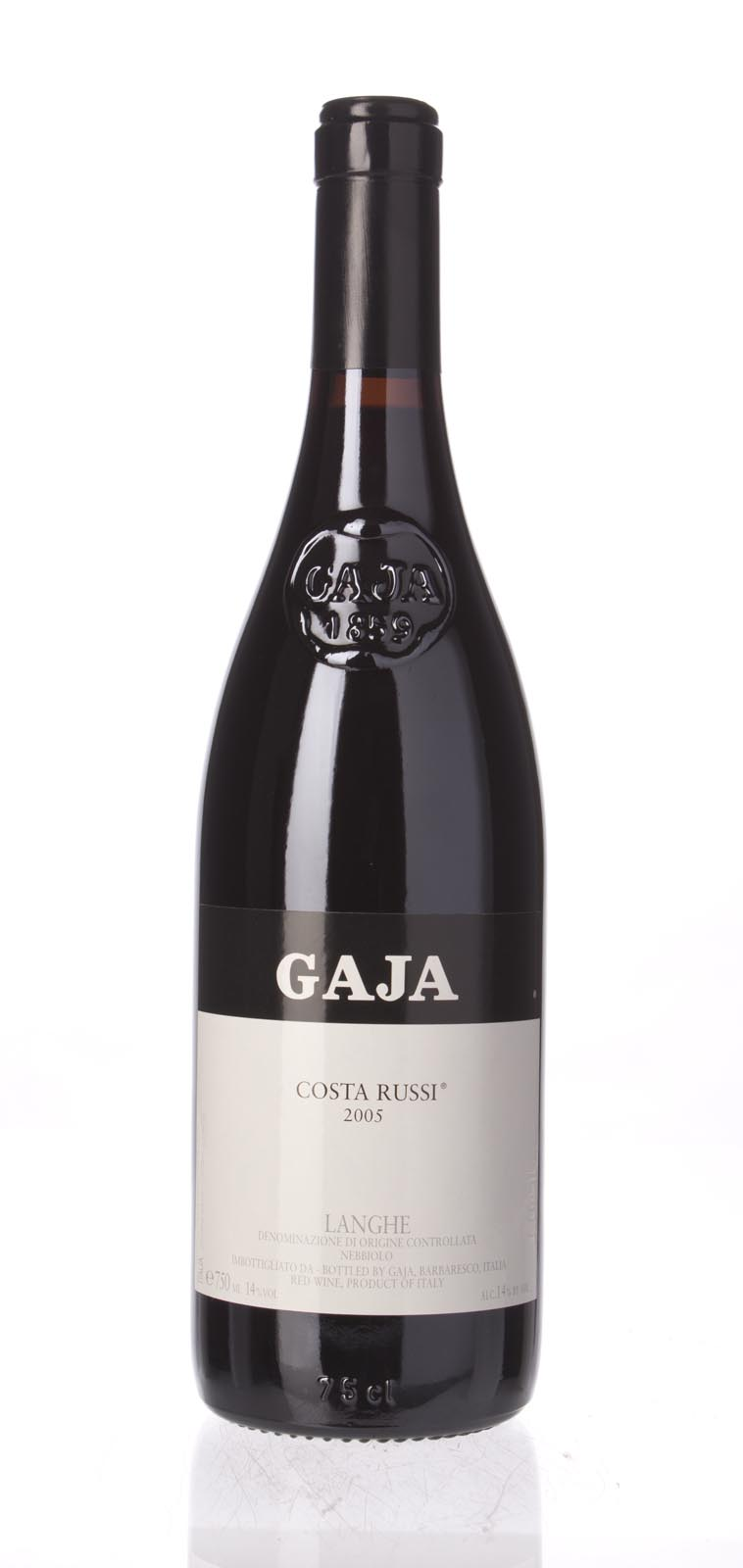 Gaja Costa Russi 2005, 750ml (WA96, WS96) from The BPW - Merchants of rare and fine wines.