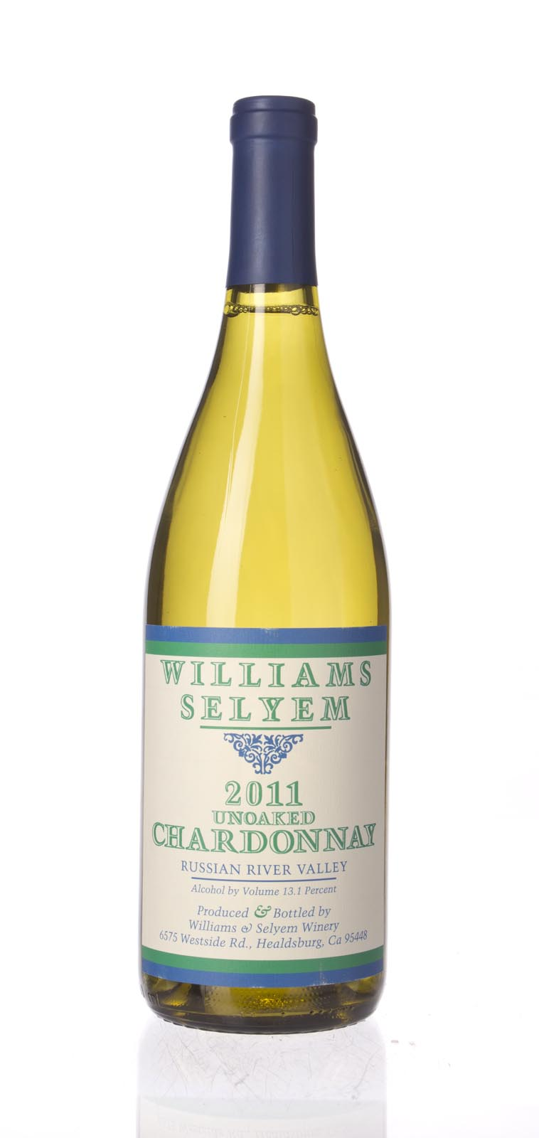 Williams Selyem Chardonnay Unoaked Russian River Valley 2011, 750ml () from The BPW - Merchants of rare and fine wines.
