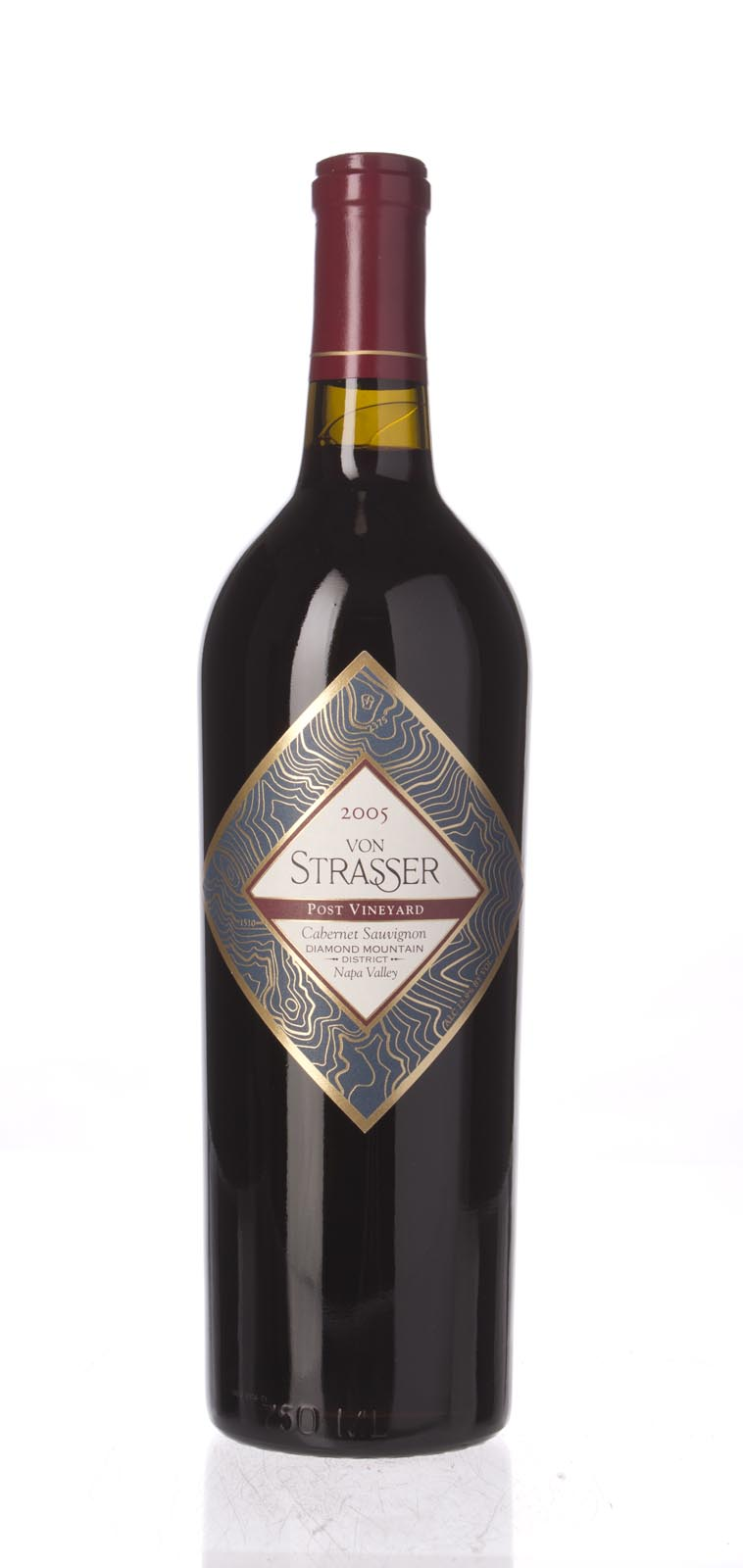 Von Strasser Cabernet Sauvignon Post Vineyard 2005, 750mL () from The BPW - Merchants of rare and fine wines.