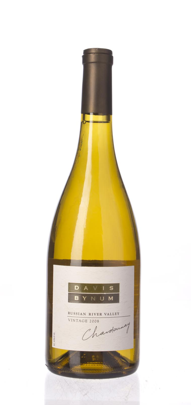 Davis Bynum Chardonnay Russian River Valley 2008, 750mL () from The BPW - Merchants of rare and fine wines.